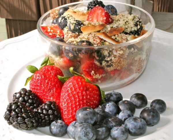 Chia Berry Bowl